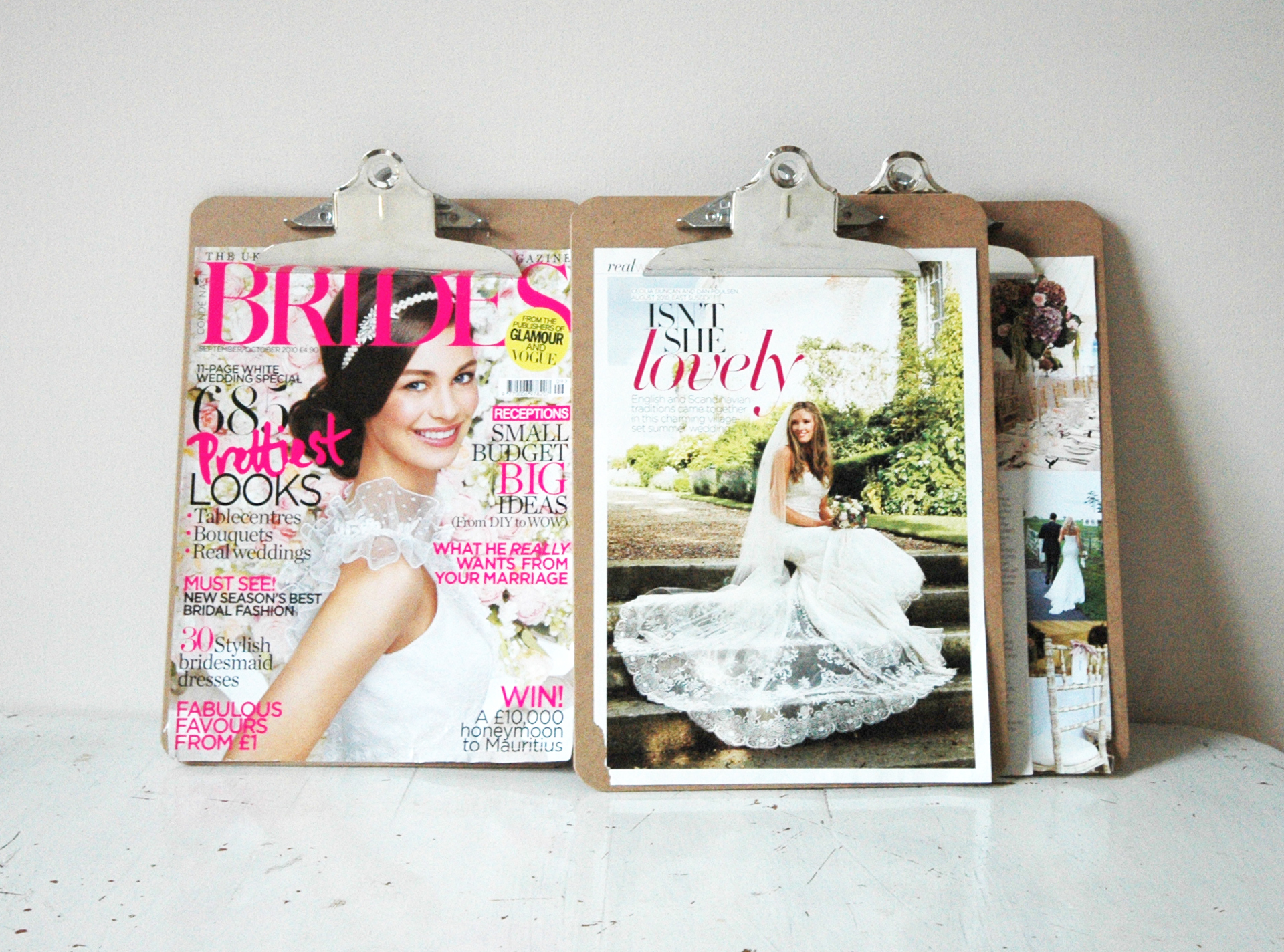 featured in Brides Magazine...