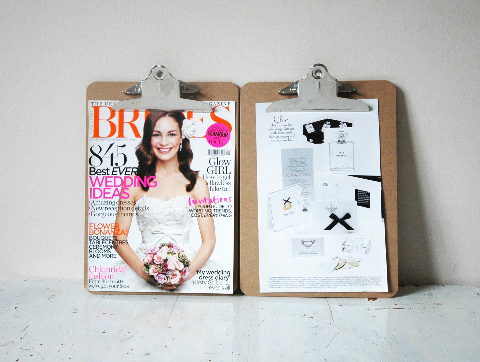 featured in Brides Magazine...