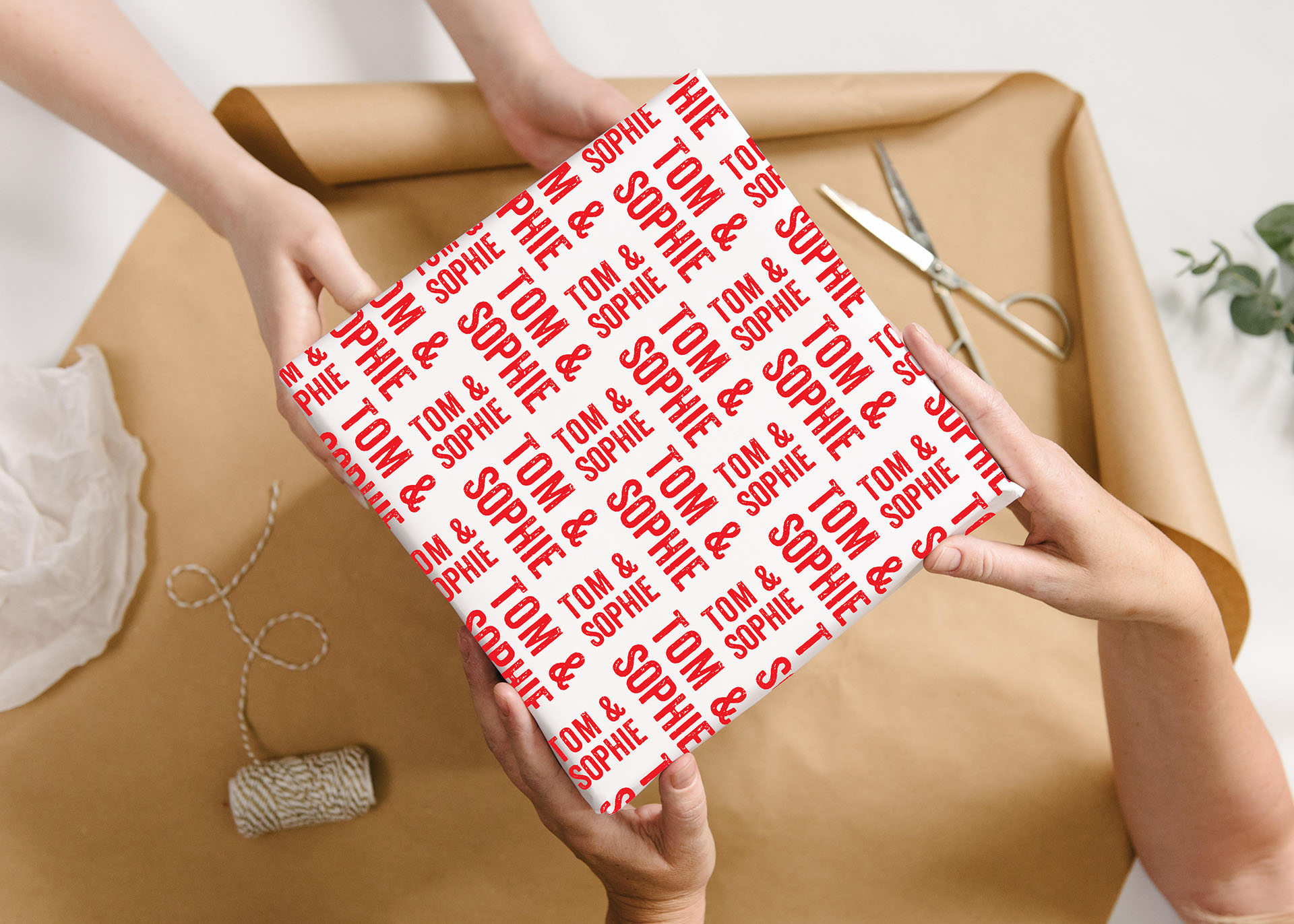 Personalised Wrapping Paper...